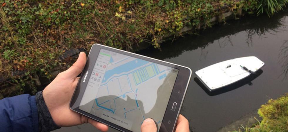 Bootje brengt polder in Delfland in kaart-980x450px