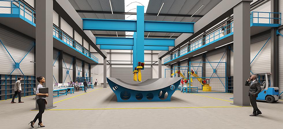 TU Delft / Composite Automation development Centre