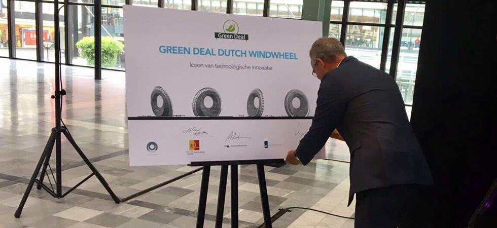 Dutch Windwheel ondertekening green deal