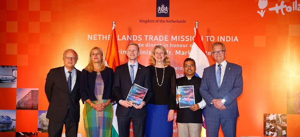 Dutch delegation to India seals agreement on soft landing support in Karnataka for Dutch startups-980x450