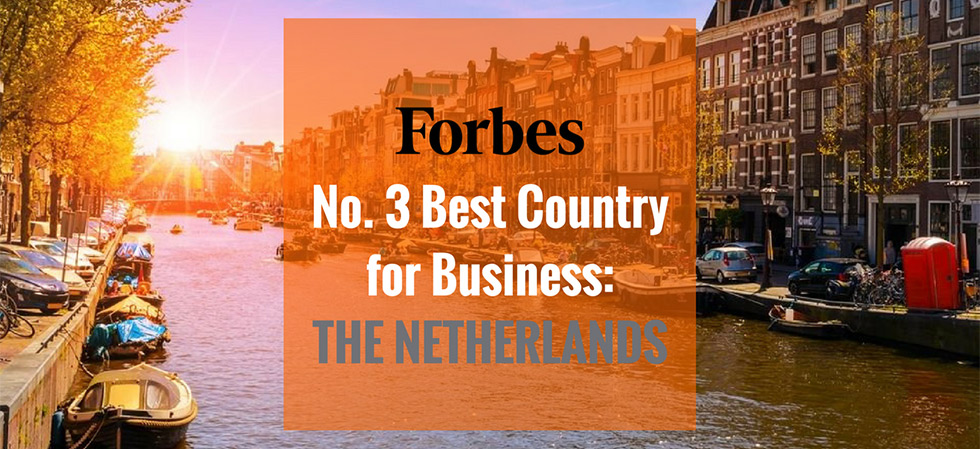 Forbes names the Netherlands No. 3 Best Country for Business