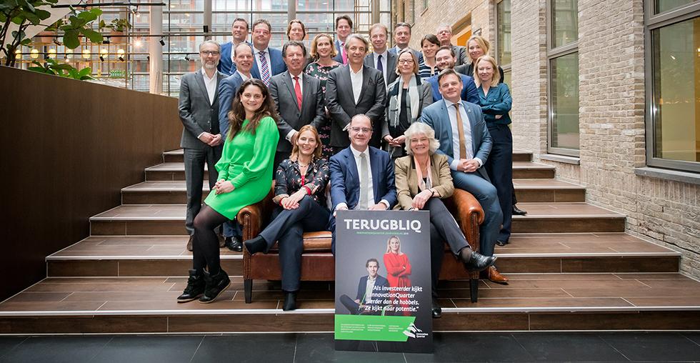TerugblIQ InnovationQuarter Jaarverslag 2018