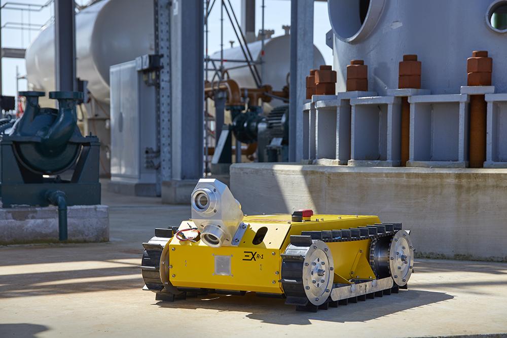 ExRobotics - Robot voor inspectie en onderhoud NAM