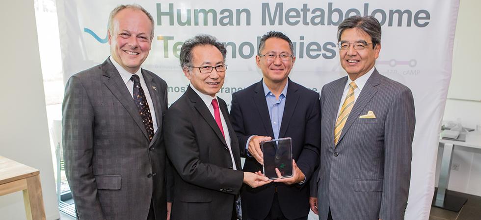 Human Metabolome Technologies vestigt Europees kantoor in Leiden
