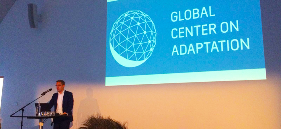 Global Centre on Adaptation landt in Rotterdam