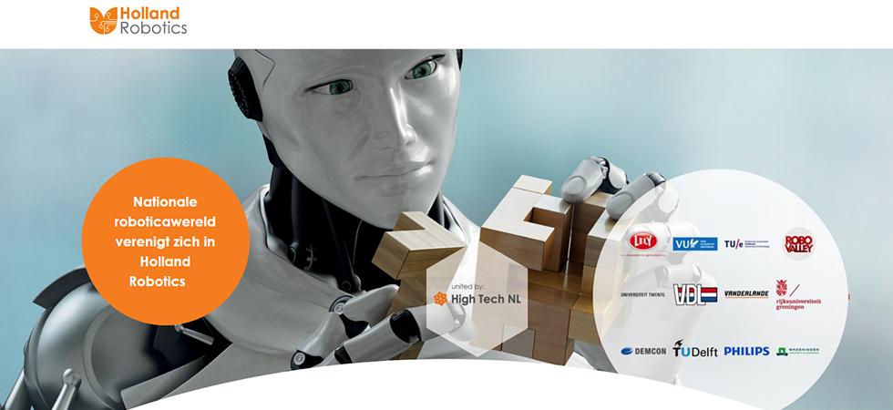 Holland Robotics is een landelijke roboticabeweging, die ervoor gaat zorgen dat de roboticakennis in Nederland maximaal wordt benut.