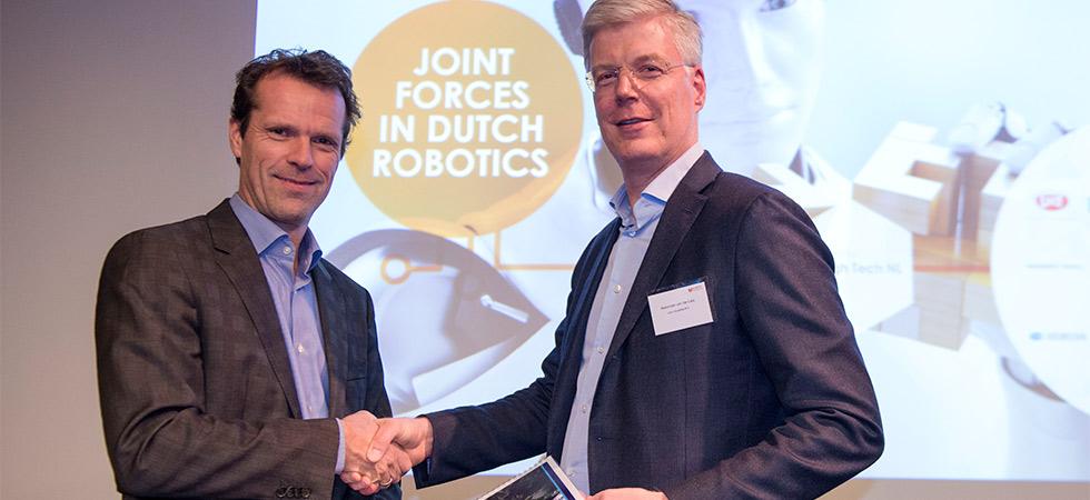 Holland Robotics presenteert position paper 'Kansen voor de Nederlandse robotica'