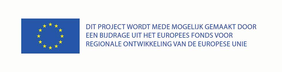 EFRO / Europees fonds voor regionale ontwikkeling van de Europese Unie.