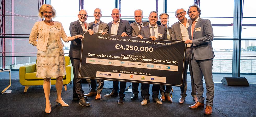 € 4,2 miljoen voor de composietindustrie Zuid-Holland