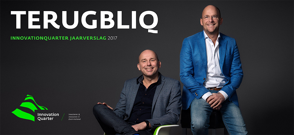 InnovationQuarter Jaarverslag 2017, de TerugblIQ