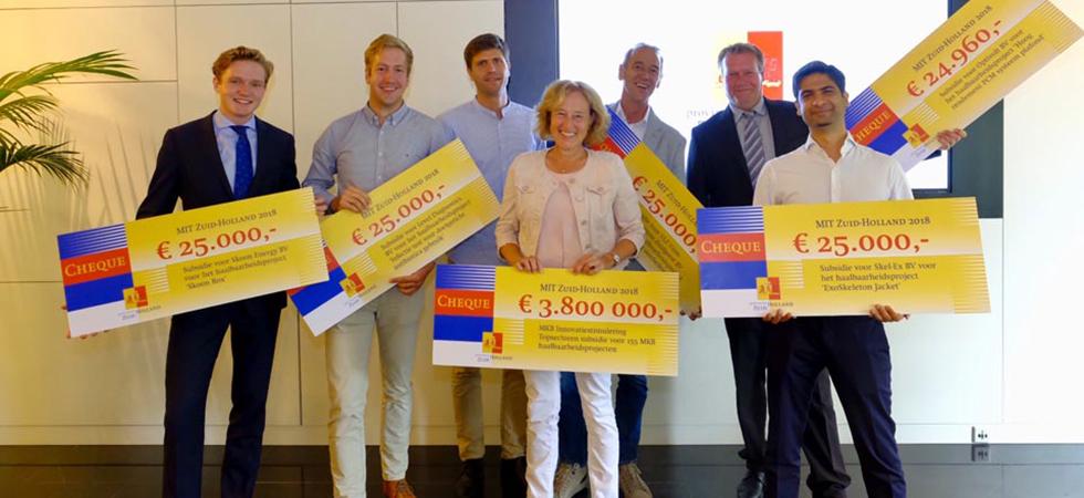 € 3,8 miljoen voor innoverende MKB-bedrijven
