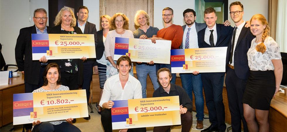 Ruim € 3 mln. voor het innoverend MKB Zuid-Holland