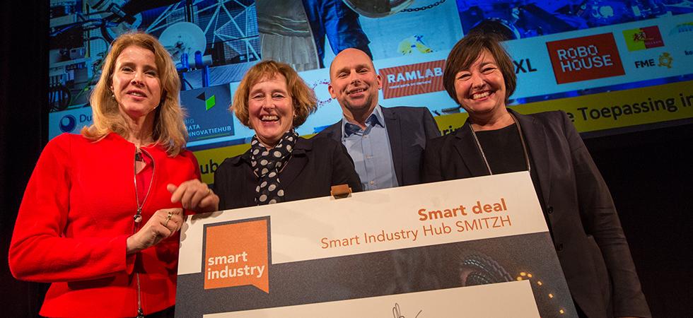 Rijk en regio Zuid-Holland zetten in op versterking maakindustrie met SMITZH