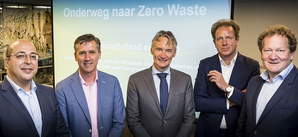 Royal FloraHolland met Milgro onderweg naar zero waste