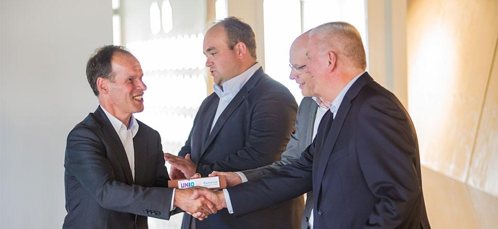 Sensius werkt aan nieuwe kankerbehandelingen met hyperthermie en ontvangt een investering van € 300.000 van investeringsfonds UNIIQ en Erasmus MC