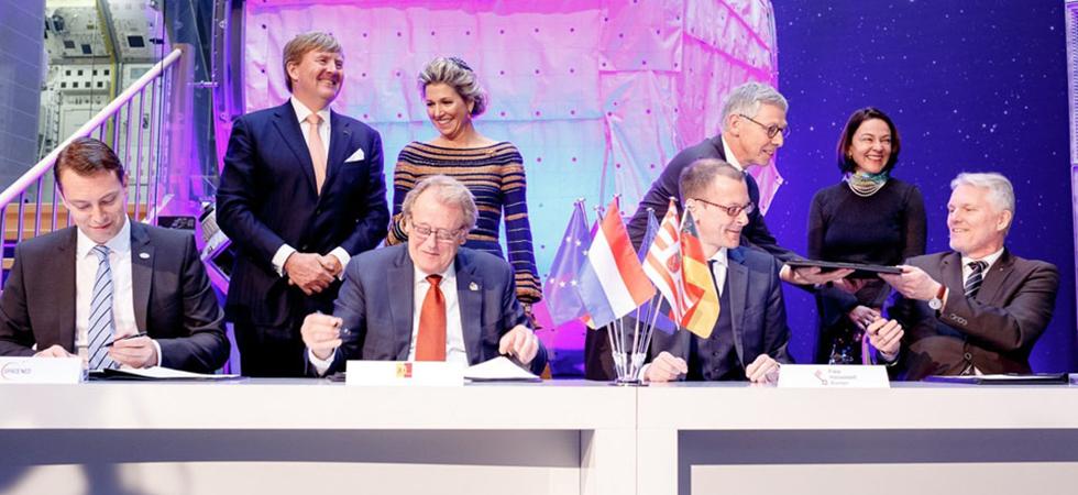 Spaceregio's Zuid-Holland en Bremen slaan handen ineen