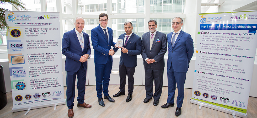 European Headquarters in The Hague for Indian cyber security firm E2Labs