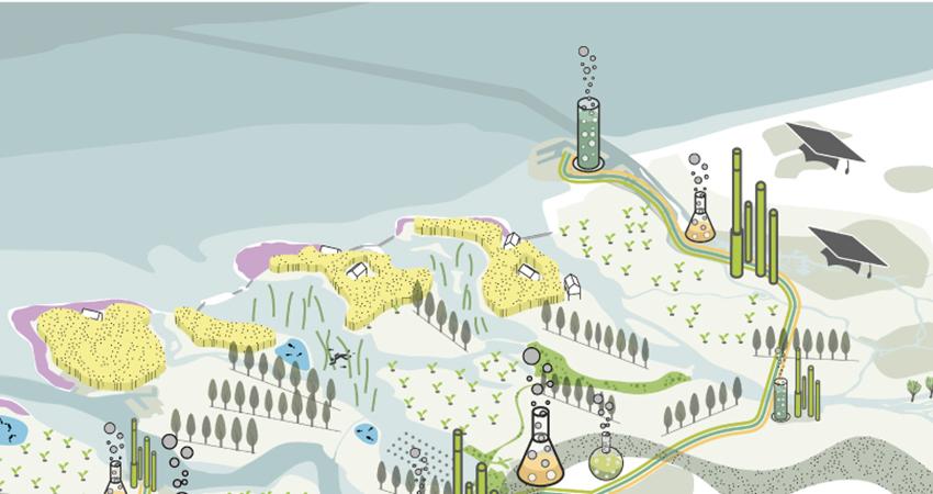 Van extractenbibliotheek tot bio-asfaltweg: het jaarverslag 2016 van Biobased Delta