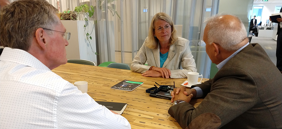Pauline Krikke brengt werkbezoek aan InnovationQuarter