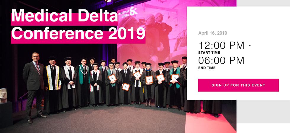Medical Delta Conference 2019 & launch of Medical Delta's